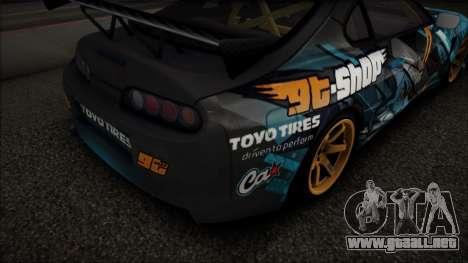 Toyota Supra GT-Shop para GTA San Andreas left
