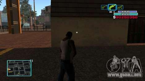 C-HUD Hast para GTA San Andreas tercera pantalla