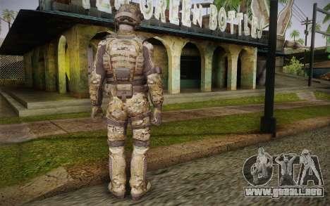 Crosby from Call of Duty: Black Ops II para GTA San Andreas segunda pantalla