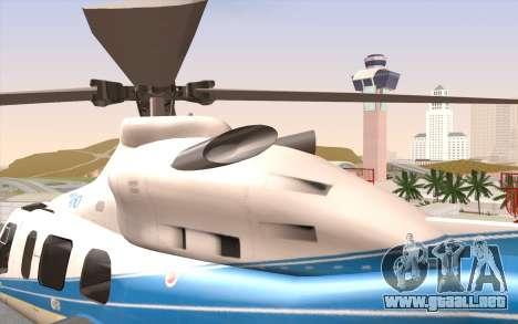 Bell 430 para la visión correcta GTA San Andreas