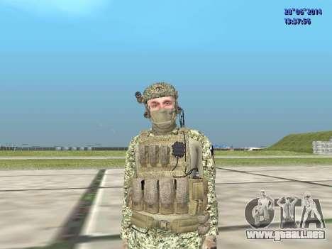 Alfa Antiterrorismo para GTA San Andreas sexta pantalla