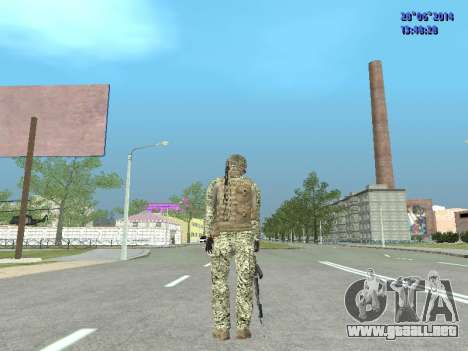 Alfa Antiterrorismo para GTA San Andreas undécima de pantalla