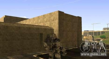 TitanFall Atlas para GTA San Andreas sucesivamente de pantalla