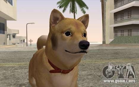 Perro para GTA San Andreas tercera pantalla