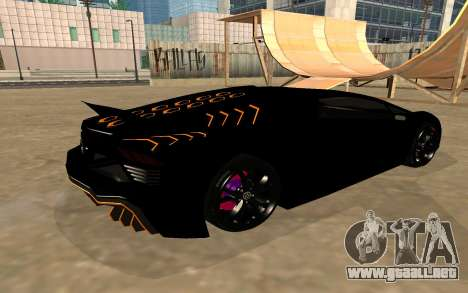 GTA 5 Zentorno para visión interna GTA San Andreas