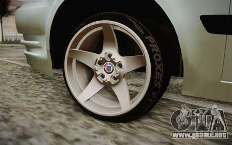 Hyundai Polis TR para GTA San Andreas vista posterior izquierda