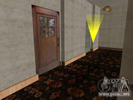 El nuevo interior de la casa de CJ para GTA San Andreas tercera pantalla