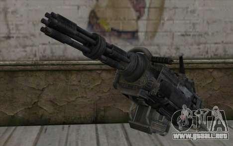 Minigun из Fallout para GTA San Andreas
