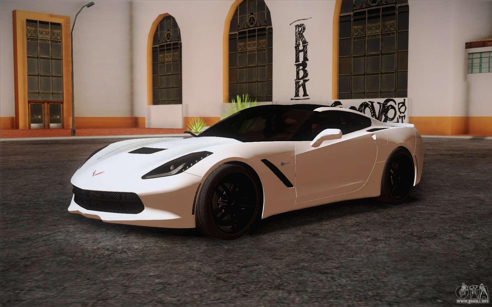 Chevrolet corvette stingray c7 2014 para gta san andreas