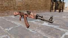 El AK-47 tigre Rojo