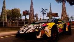 Lamborghini LP750-4 2013 Veneno Stikers Editions para GTA San Andreas