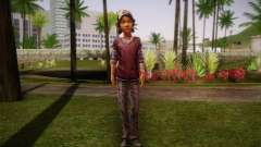 Clementine из The Walking Dead para GTA San Andreas