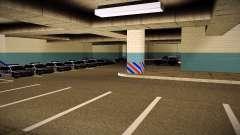Nuevo garaje LSPD para GTA San Andreas
