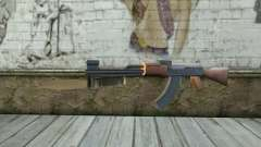 AK47 con una bayoneta