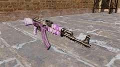 El AK-47 Púrpura camo