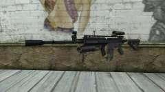 M4A1 из COD Modern Warfare 3 para GTA San Andreas