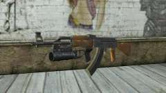 AK47 with GP-25