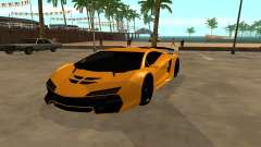 GTA 5 Zentorno para GTA San Andreas