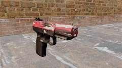 Pistola FN Cinco-siete urbana Rojo para GTA 4
