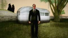 Agent Smith from Matrix para GTA San Andreas