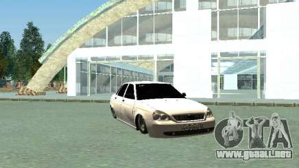 Lada 2170 Priora sedan para GTA San Andreas