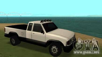 Recogida Nuevo para GTA San Andreas