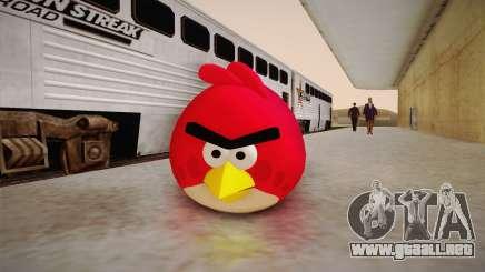Red Bird from Angry Birds para GTA San Andreas