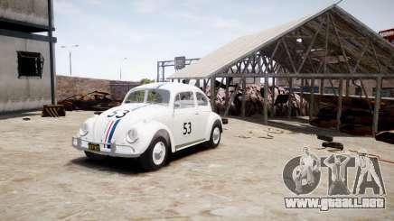 Volkswagen Beetle 1962 para GTA 4