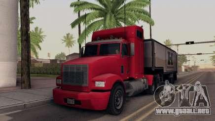 GTA V Packer para GTA San Andreas