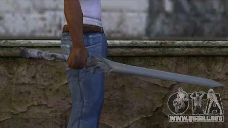 Kaka para GTA San Andreas tercera pantalla
