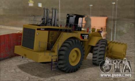 Caterpillar 994F para GTA San Andreas left