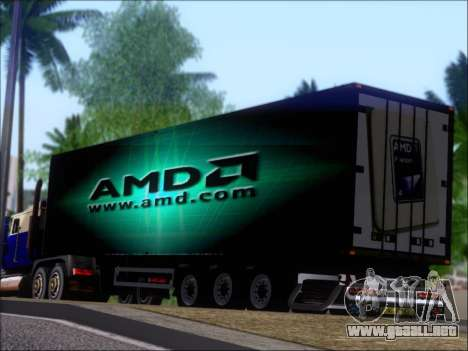 Trailer AMD Phenom X4 para las ruedas de GTA San Andreas