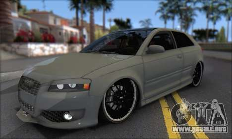 Audi S3 2006 Custom para GTA San Andreas