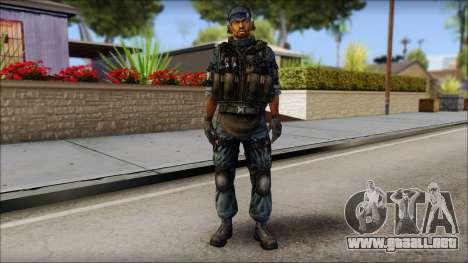 Sami GIGN from Soldier Front 2 para GTA San Andreas