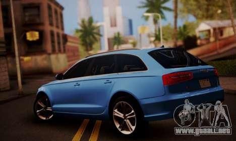 Audi S6 Avant 2014 para GTA San Andreas left