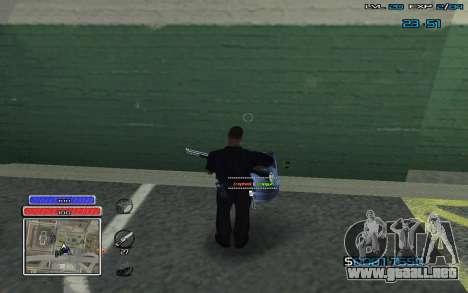 New C-HUD v.2 para GTA San Andreas