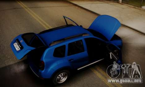 Lada Duster para vista inferior GTA San Andreas