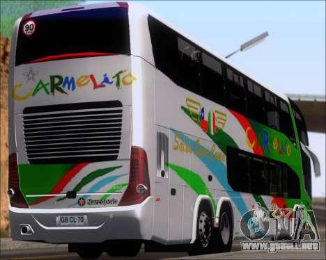 Marcopolo Paradiso G7 1800 DD 6x2 Scania K420 para GTA San Andreas
