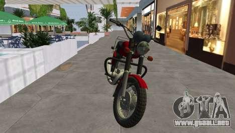 IZH Planeta 5 para GTA Vice City visión correcta