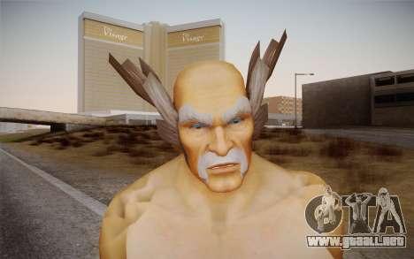 Heihachi Mishima v2 para GTA San Andreas tercera pantalla