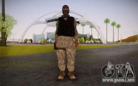 Fuerzas Especiales para GTA San Andreas