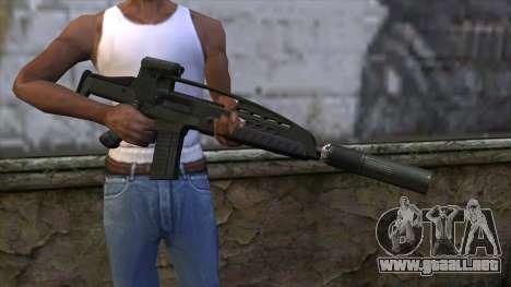 XM8 Assault Olive para GTA San Andreas tercera pantalla
