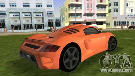 RUF CTR3 para GTA Vice City left