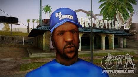 Sweet Blue Skin para GTA San Andreas tercera pantalla