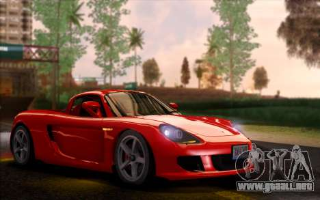 SA Ultimate Graphic Overhaul para GTA San Andreas sucesivamente de pantalla