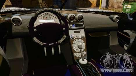 Koenigsegg CCX v1.5 para GTA 4 vista interior