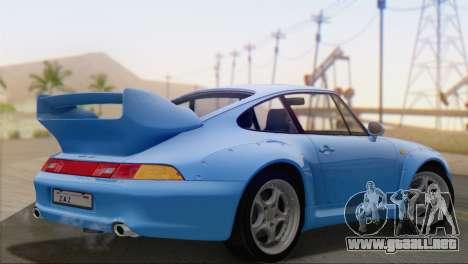 Porsche 911 GT2 (993) 1995 V1.0 SA Plate para GTA San Andreas left