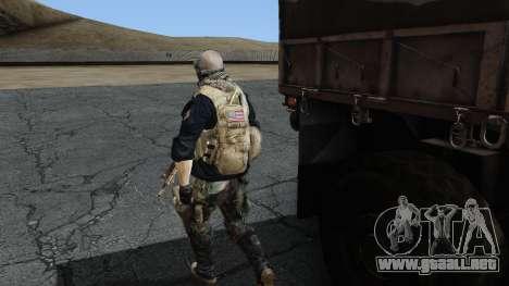 Army Ghost v2 para GTA San Andreas tercera pantalla