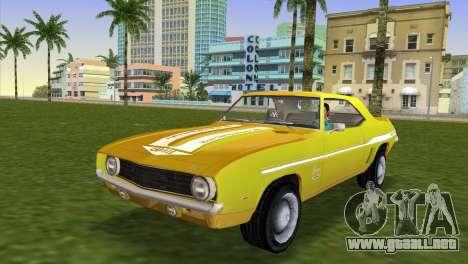 Chevrolet Camaro Cab 1969 para GTA Vice City