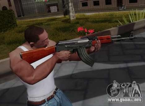 Type 56 para GTA San Andreas tercera pantalla